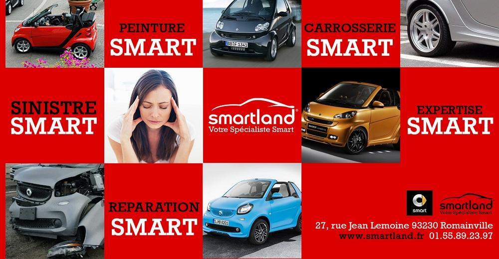 spécialiste smart smartland réparation moteur embrayage révision maintenance vidange carrosserie smart
