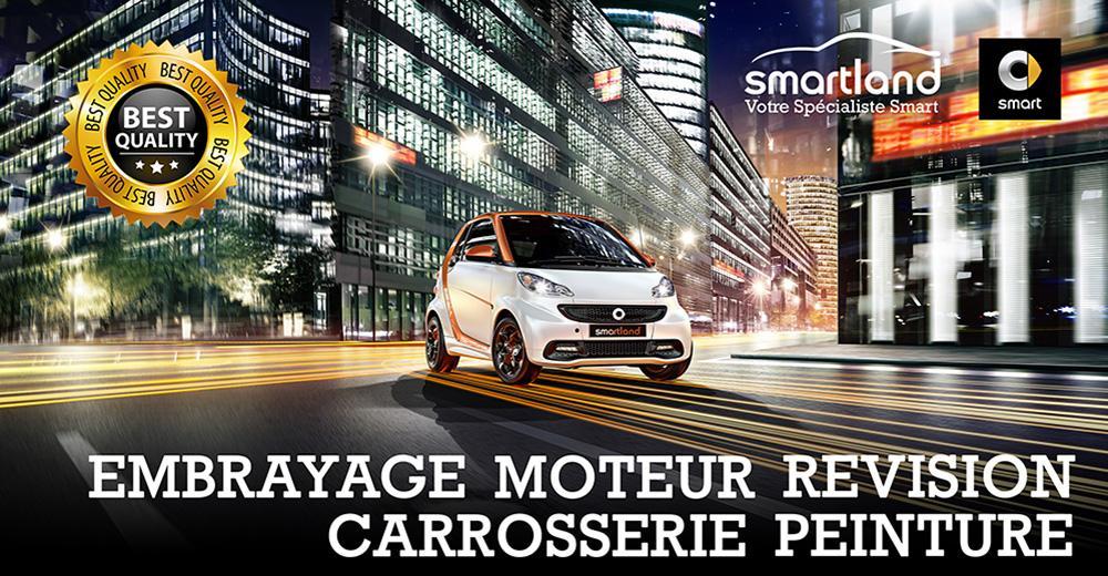 spécialiste smart entretien revision moteur capote pneumatique moteur smart garage smartland